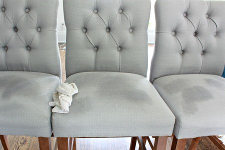 Baking soda is a superb cleaning cloth for fabric furniture