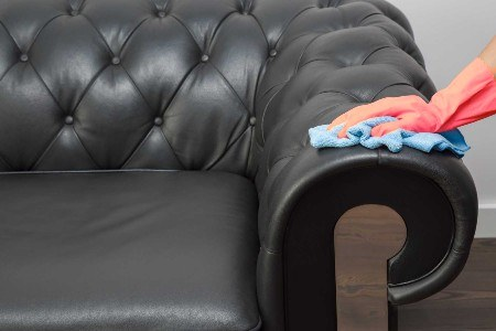Leather Sofa Cleaning- Things to Do In The Event of Spillages