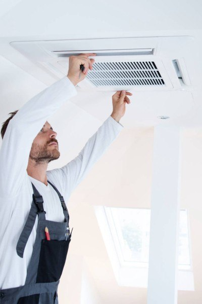 Our air duct cleaning process - PowerPro Carpet and Rug Cleaning Service